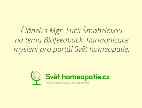 svethomeopatie.cz &#8211; Biofeedback <br> Harmonizujte své myšlení